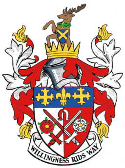 east barnet udc arms