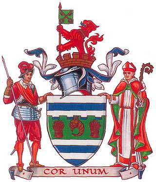 huntingdon and peterborough cc arms