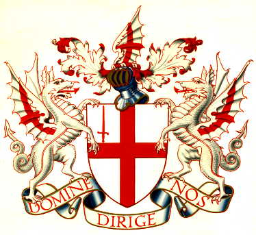 coat arms red dragon fooling inhabitants earth read book revelation