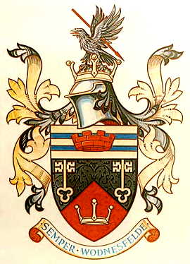 wednesfield udc arms